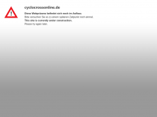 Screenshot der Domain cyclocrossonline.de