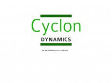 Screenshot der Domain cyclon-dynamics.de