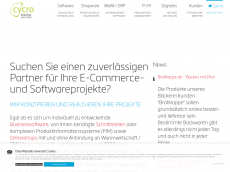 Screenshot der Domain cycro-systems.com
