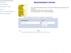Screenshot der Domain cylex-branchenbuch-viersen.de