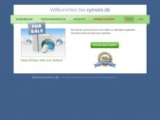 Screenshot von cymore.de
