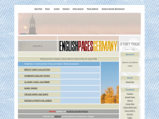 Screenshot der Domain englishpages.de