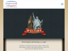 Screenshot der Domain englishtalk.net