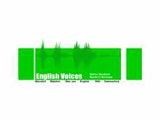 Screenshot der Domain englishvoices.de