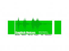 Screenshot der Domain englishvoices.de