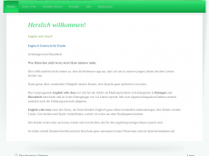 Screenshot der Domain englishwithamy.de