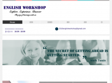 Screenshot der Domain englishworkshop.info
