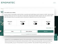 Screenshot der Domain engmatec.com