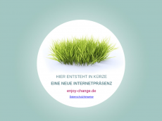 Screenshot der Domain enjoy-change.de
