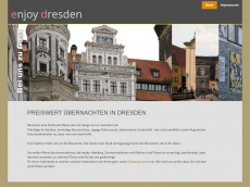 Screenshot der Domain enjoy-dresden.de