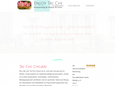 Screenshot der Domain enjoy-taichi.de