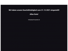 Screenshot der Domain enjoy-the-passion.de