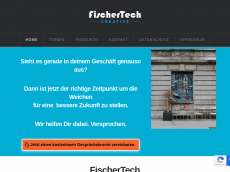 Screenshot der Domain fischertech.eu