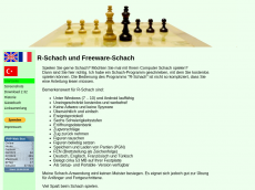 Screenshot der Domain freeware-schach.de
