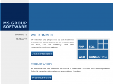 Screenshot der Domain freeware-store.de