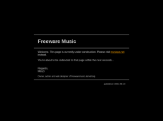 Screenshot der Domain freewaremusic.de