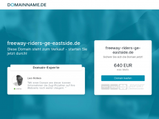 Screenshot der Domain freeway-riders-ge-eastside.de