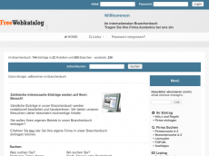 Screenshot der Domain freewebkatalog.de