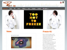 Screenshot der Domain freezeforyou.de