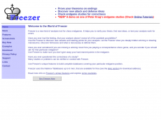 Screenshot der Domain freezerchess.com