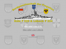 Screenshot der Domain fregatte-koeln.de
