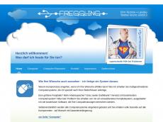 Screenshot der Domain freggling.de
