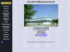 Screenshot der Domain fregoma.de