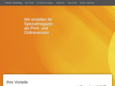 Screenshot der Domain frehner-consulting.de
