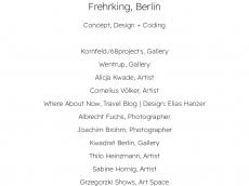 Screenshot der Domain frehrking.de