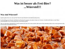 Screenshot der Domain frei-bier.de