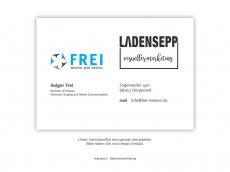 Screenshot der Domain frei-medien.de