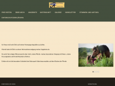 Screenshot der Domain frei-reiten.de
