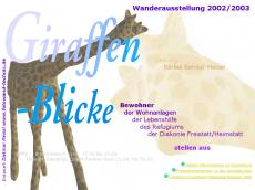 Screenshot der Domain giraffenatelier.de
