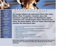 Screenshot von giraffenaugen.de
