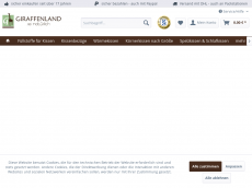 Screenshot der Domain giraffenland.de
