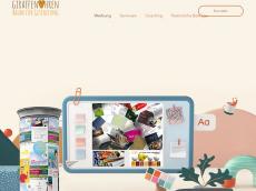Screenshot der Domain giraffenohren.de