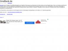 Screenshot von giralbank.de
