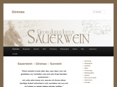 Screenshot der Domain girenas.de