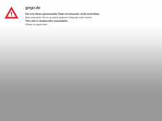 Screenshot der Domain girgir.de