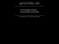 Screenshot der Domain girichidis.de