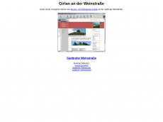 Screenshot der Domain girlan.info