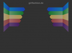 Screenshot der Domain girlfashion.de