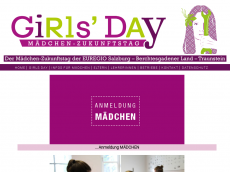 Screenshot der Domain girlsday.info