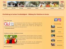 Screenshot der Domain girlshope.de