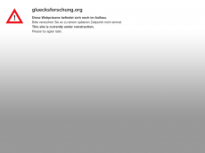 Screenshot der Domain gluecksforschung.org