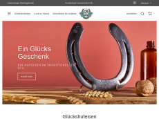 Screenshot der Domain gluecksgeschenk.de