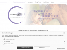 Screenshot der Domain gluecksmomente-ev.de