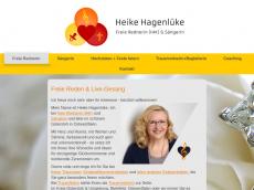 Screenshot von gluecksmomente-events.de