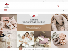 Screenshot der Domain glueckspilz-shop.de