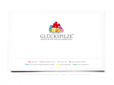 Screenshot der Domain glueckspilze.de